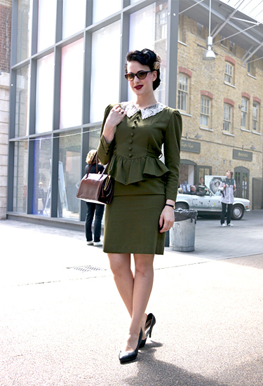 Vintage perfection · London Streetstyle