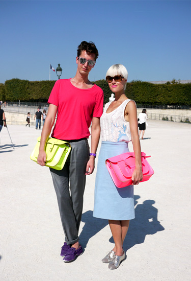 Coolhunters! Streetstyle in Paris