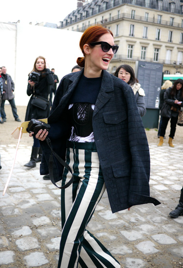 Good morning Taylor Tomasi Hill! (Celine pants)