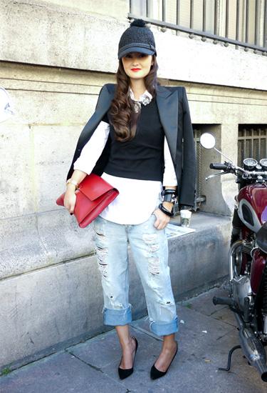 Peony Lim in Paris | Street Style