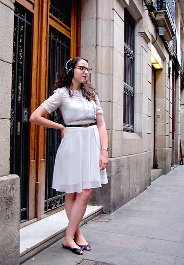 Vintage style in Barcelona · Streetstyle