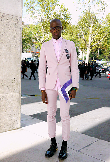 Pale Pink Suit | Men's Style