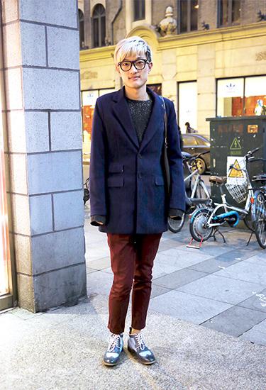 Cool Guy in Shanghai