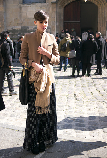 Anne-Catherine at Paris Fashion Week