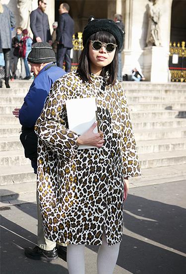 Leaf Greener | Leopard Print Cocoon Coat