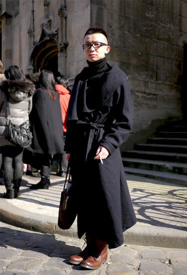 Jinchao Hu · Paris Fashion Week