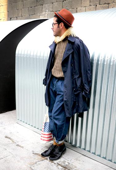 Carlos Ventura at Barcelona Fashion Week | Streetstyle