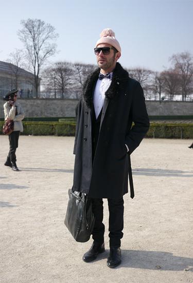Javier in Paris · Streetstyle
