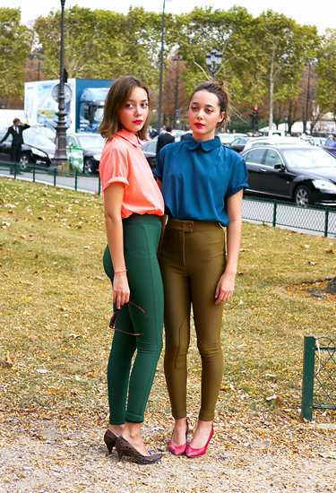 American Apparel Twins | Paris