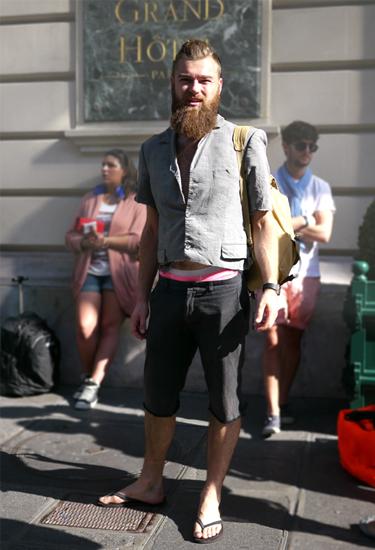 Short Blazer · Paris Streetstyle