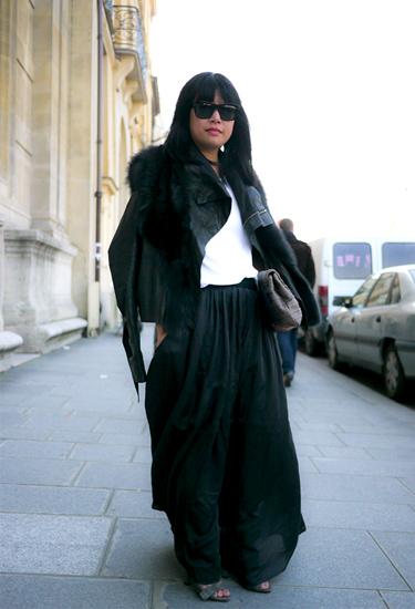 Maxiskirt · Paris Fashion Week