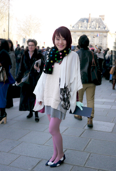 Color dots · Paris Streetstyle
