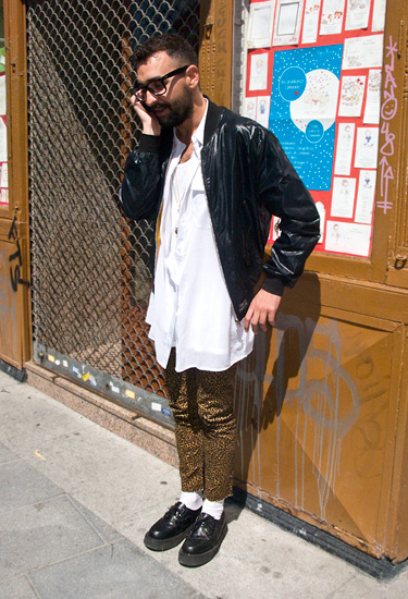 Andres · Madrid Streetstyle