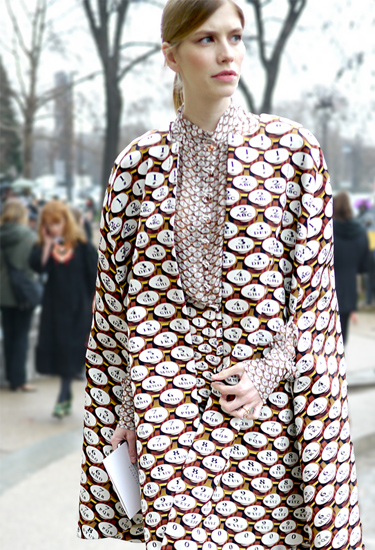 Total outfit by Mary Katrantzou | London's queen of prints