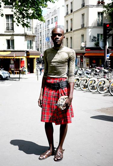 Kilt trend · Streetstyle