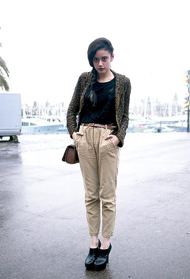 Cool Chic at Barcelona Fashion Week