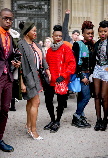 Youngsters at Paris Fashion Week | Urban Trends