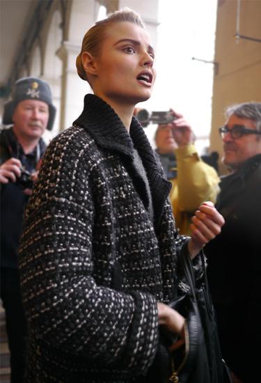 Model off duty | Magdalena Frackowiak