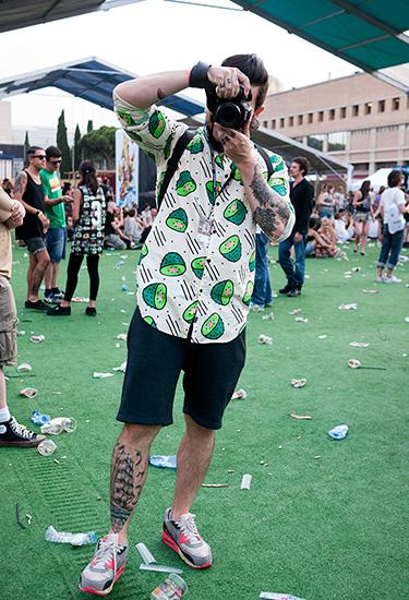 Kiwi Shirt | Sonar Barcelona 2014