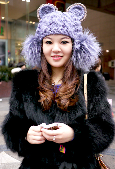Knit Hat | Shanghai Winter trends
