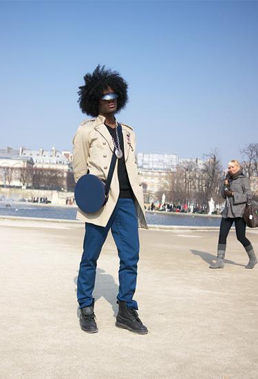 Inspiration militaire · Paris Streetstyle