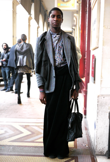 MaxiSkirt for Him | Paris Streetstyle