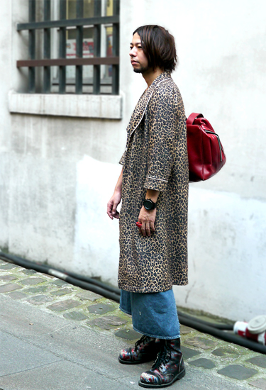Dressing gown trend · Paris Streestyle