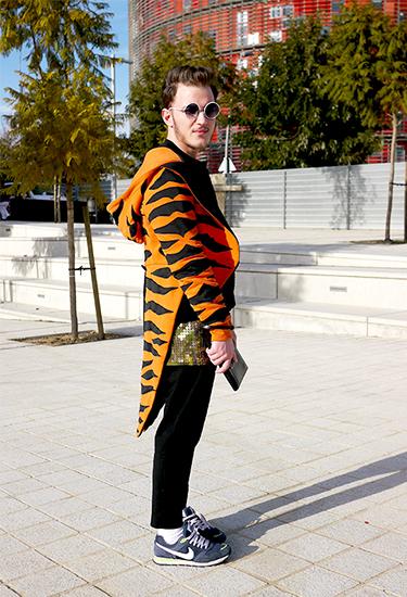 Andrea wears Jeremy Scott | Barcelona Street Style