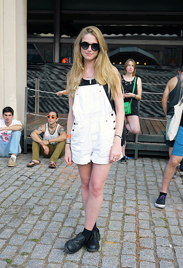 Overalls | Festival Street Style