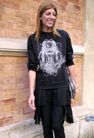 Sweatshirt Balenciaga · Paris Streetstyle