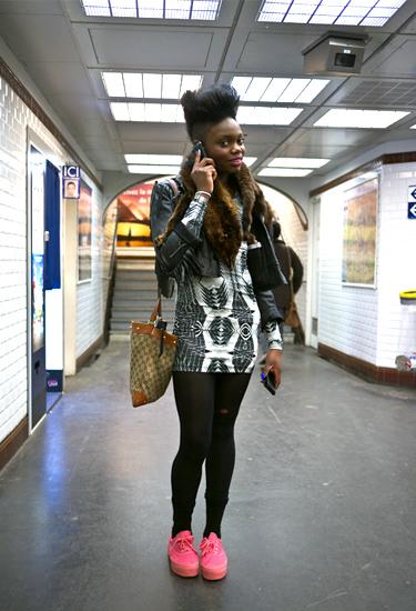 Subway Diva · Paris Streetstyle