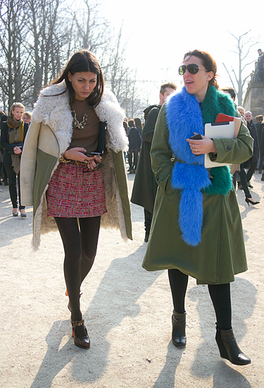 Fashion Editors · Paris Fashion Week