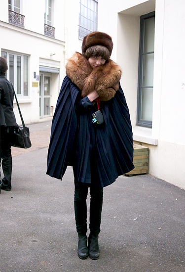 Pierre Brighton at Paris Fashion Week