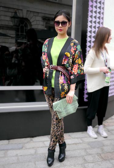 Streetstyle | Kimono