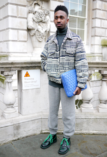 Quilted clutch | Urban Trends | London