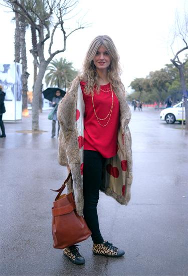 Patricia at 080 Barcelona Fashion · Madame à Paris