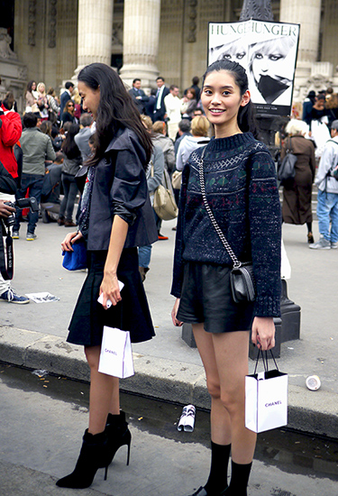 Model Off Duty | Exit Chanel