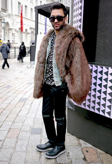Fur & Jeans | London Streetstyle