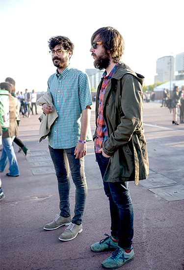 Indie guys at Primavera Sound
