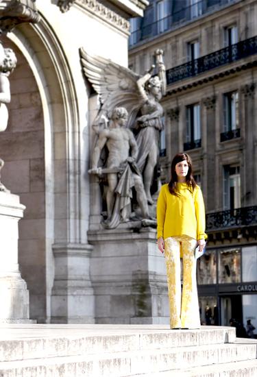 Paris Street Style | Yellow