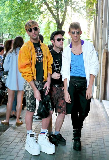 Javier, John & Joel from Barcelona | Streetstyle