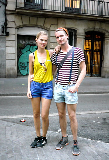 Finnish Street Style in Barcelona
