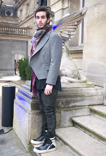 A fashion angel · Paris Streetstyle