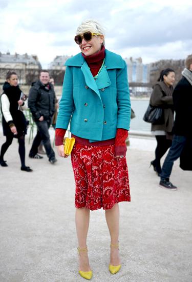 Elisa Nalin | Turquoise & Red