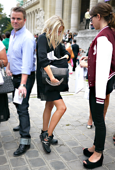 Paris Fashion Week Scene (SS2012)