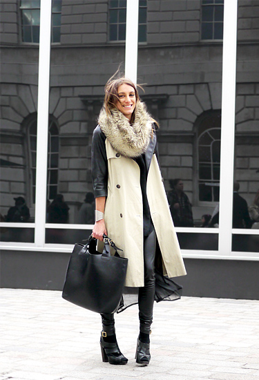 Topshop Trench | London Streetstyle