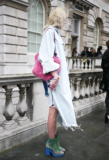 Long Jeans Coat | London Streetstyle