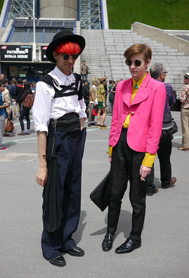 Luiz and Pierre · Two fashionistas in Paris