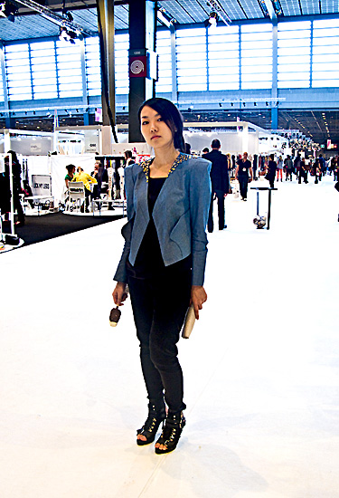 Nohke J at Who's Next Paris