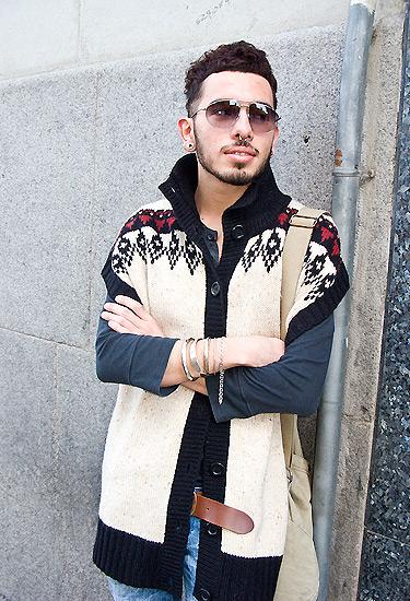 Wool vest · Barcelona Streetstyle